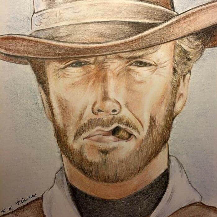Clint Eastwood por TraceyLawler